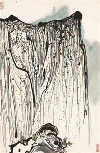 华山 by wu guanzhong