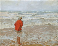 looking out to sea by charles garabed atamian