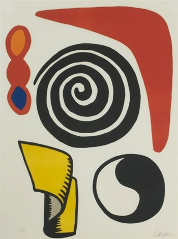 la matraque rouge by alexander calder