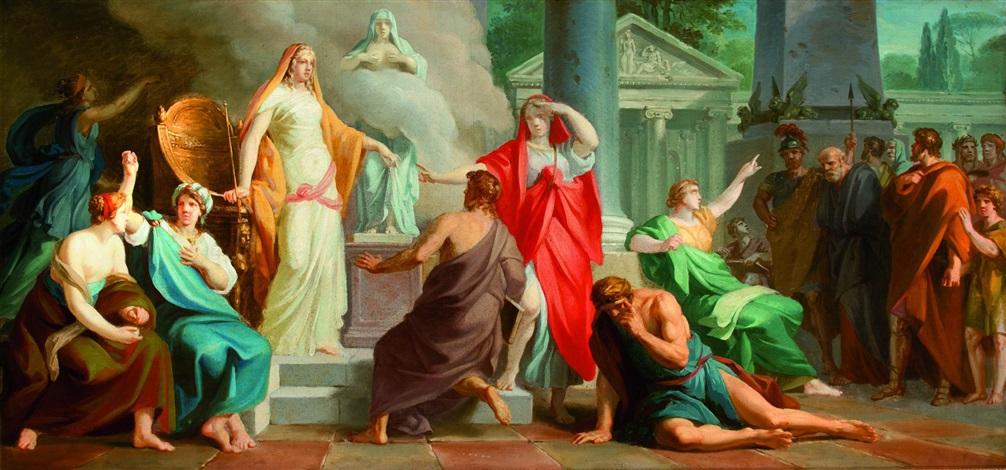 allegoria della sapienza filosofica by friedrich heinrich füger