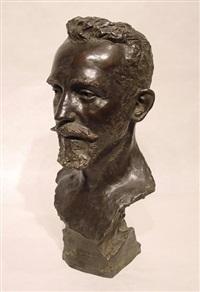 portrait bust by leopold bernhard bernstamm