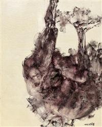 lying figure by zhou chunya