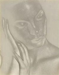 solarized figure by wynn bullock