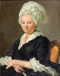 portrait de madame de wills by jean françois gilles colson