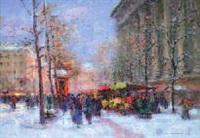 la madeleine sous la neige by sergei filitov