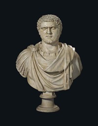 bust of caracalla by antique
