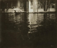late afternoon in venice by edward steichen