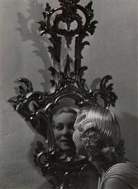 jeune femme face au miroir by dora maar