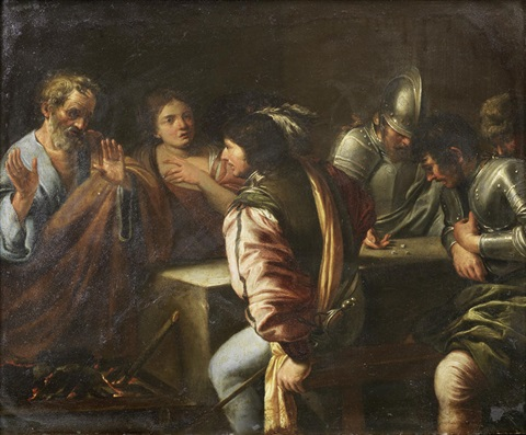 The Denial Of St Peter By Valentin De Boulogne