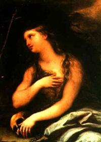 the penitent magdalene by giuseppe simonelli