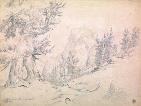 paysages avec village (various sizes; 5 works) by théodore claude félix caruelle d' aligny