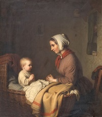 the evening prayer by johann georg meyer von bremen