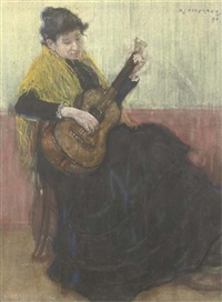 playing the guitar by hendrik johannes haverman