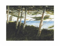 the woods of villa anatolia by julio larraz