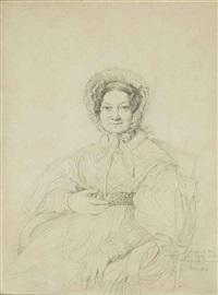 portrait de madame jean-jacques-joseph anfrye, née louise- jeanne-hyacinthe dastros by jean-auguste-dominique ingres