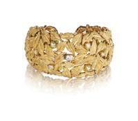 a cuff bracelet by buccellati