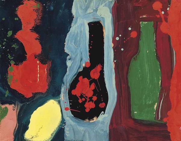 three magic bottles by alan davie