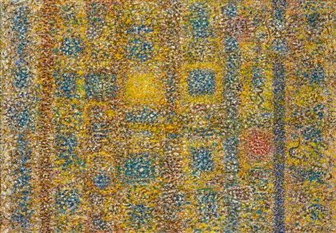 untitled from strata series by richard pousette dart