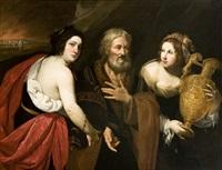 loth e le figlie by francesco de rosa