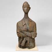 女性像 (figura femminile) by giacomo manzù