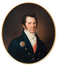 portrait of the senator, baron gustav mellin by johan erik lindh
