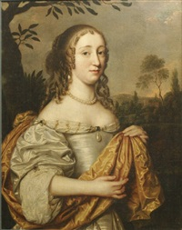 portrait of a lady by pieter nason