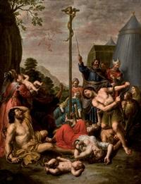 escena bíblica by peter van lint