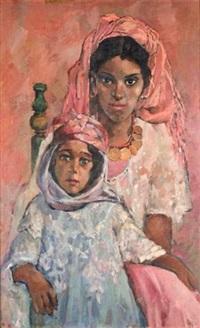 femme et enfant by livet