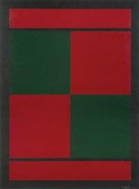 rode en groene vierkanten by amédée cortier