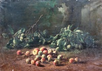 nature morte aux fruits by gustave emile couder