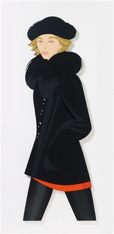 anne cutout by alex katz