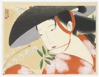 fuji musume - the wisteria maiden by tsunetomi kitano
