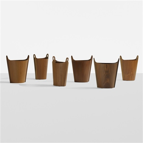 wastepaper baskets set of 6 by ps heggen