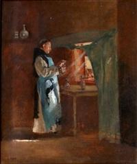 le moine apothicaire by lucien alphonse gros