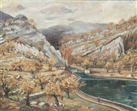 paisaje de navarra by jesús apellániz