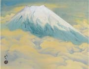 mount fuji by ryushi kawabata