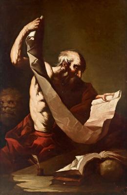 san gerolamo der heilige hieronymus by agostino scilla