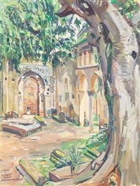 rabat, intérieur du chellah by james rassiat