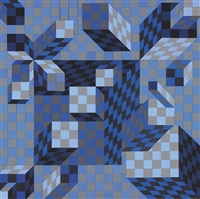 ouivar ii by victor vasarely
