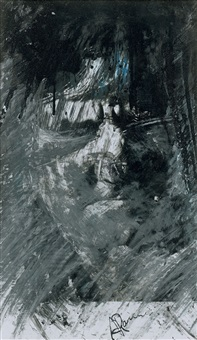 portrait by arnulf rainer