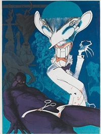 'we're learning to accept the blacks bit by bit', dr christiaan barnard by gerald scarfe