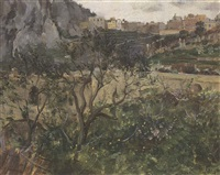 view of capri by louis ritter
