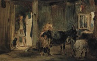 goatherd's cottage by william simson
