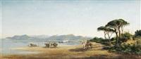 paysage du sud de la france by vincent joseph françois courdouan