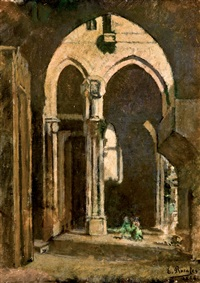 interior de catedral by eduardo rosales martínez