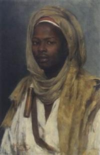 portrait eines afrikaners by marie müller