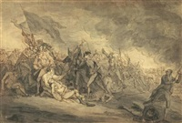 death of general warren at bunker's hill by john trumbull