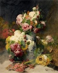 bouquet de fleurs by georges jeannin