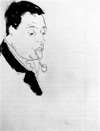 autoportrait by guillaume apollinaire