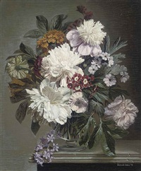 flower (study) by bennett oates